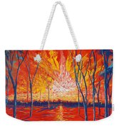 Even The Trees Get The Blues Weekender Tote Bag