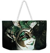 Even With Her Mask, Her Eyes Give Her Away Weekender Tote Bag