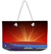 Evening At Alki Weekender Tote Bag