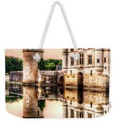 Evening At Chenonceau Castle Weekender Tote Bag
