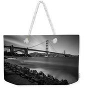 Evening At Golden Gate Bridge Weekender Tote Bag