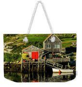 Evening At Peggys Cove Weekender Tote Bag