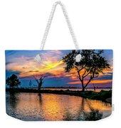 Evening At Riverwinds Weekender Tote Bag