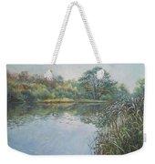 Evening At Southampton Common Lake Weekender Tote Bag