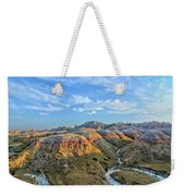 Evening At Yellow Mounds 2 Weekender Tote Bag