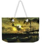 Evening Beach Weekender Tote Bag