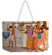 Evening Bells At The Temple Weekender Tote Bag