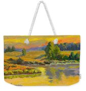 Evening Color Weekender Tote Bag