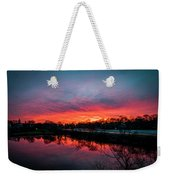 Evening Commute Weekender Tote Bag