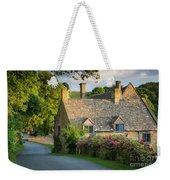 Evening Cottage Weekender Tote Bag
