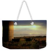 Evening Cows Weekender Tote Bag