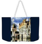 Evening Falls At The Castle Weekender Tote Bag