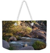 Evening Flow With Light Weekender Tote Bag