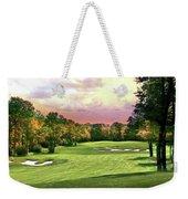 Evening Golf Course Scene Weekender Tote Bag