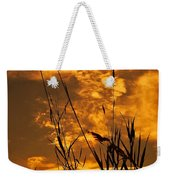 Evening Grass Weekender Tote Bag