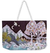 Evening In A Gentle Place Weekender Tote Bag