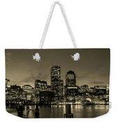 Evening In Boston Weekender Tote Bag