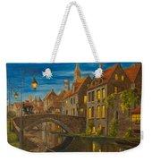 Evening In Brugge Weekender Tote Bag