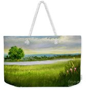 Evening In Calm Weekender Tote Bag