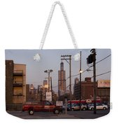 Evening In Chicago Weekender Tote Bag