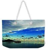 Evening In Paradise Panoramic Weekender Tote Bag