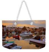 Evening In Rockport Weekender Tote Bag
