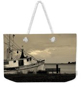Evening In The Harbor Weekender Tote Bag