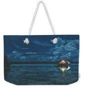 Evening In The Lagoon Weekender Tote Bag