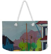 Evening In Town Chelmsford Ma Weekender Tote Bag