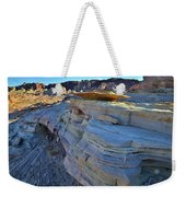 Evening In Valley Of Fire State Park Weekender Tote Bag