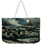 Evening Is Falling  Weekender Tote Bag