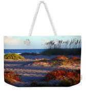 Evening Light At The Beach Weekender Tote Bag