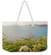 Evening Light In Cornwall Weekender Tote Bag