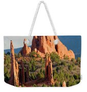 Evening Light On Garden Of The Gods Weekender Tote Bag