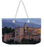 Evening Lights At The Alhambra Weekender Tote Bag
