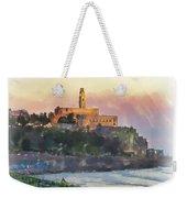 Evening Mood In Jaffa Weekender Tote Bag
