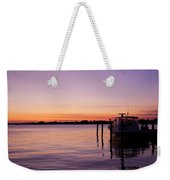 Evening Of Peace - Jersey Shore Weekender Tote Bag