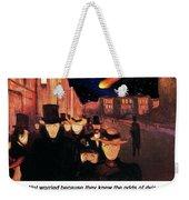 Evening On Karl Johan Street 1892 Weekender Tote Bag