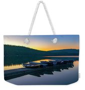 Evening On Lake Mcdonald Weekender Tote Bag
