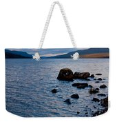 Evening On Loch Rannoch Weekender Tote Bag