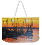 Evening On Shem Creek Weekender Tote Bag
