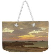 Evening On The Coast Weekender Tote Bag
