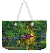 Evening On The Humber River - Paint Weekender Tote Bag
