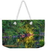Evening On The Humber River Weekender Tote Bag