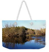 Evening On The Speed River Weekender Tote Bag