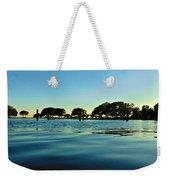 Evening On Water Weekender Tote Bag