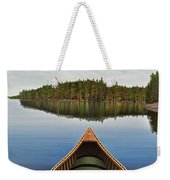 Evening Paddle  Weekender Tote Bag