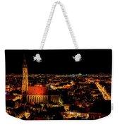 Evening Panorama - Landshut Germany Weekender Tote Bag