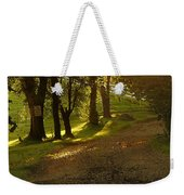 Evening Path Weekender Tote Bag
