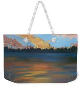 Evening Peace Weekender Tote Bag